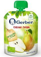"""Детское пюре Gerber """"Спелая груша"""" (90 г)"""