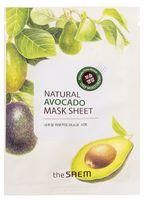 """Тканевая маска для лица """"Natural Avocado Mask Sheet"""" (21 мл)"""