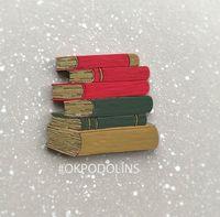 """Брошь """"Стопка книг"""" (арт. 363-3)"""