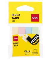Набор закладок клейких (4 цвета по 100 шт.)