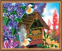 """Вышивка бисером """"В саду"""" (арт. АВ-080)"""