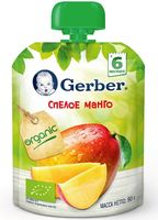 """Детское пюре Gerber """"Спелое манго"""" (90 г)"""