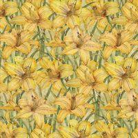 "Бумага для скрапбукинга ""Сад. Лилия"" (310х310 мм; 25 листов)"