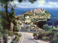 "Картина по номерам ""Княжеский дворец в Монако"" (500х400 мм)"