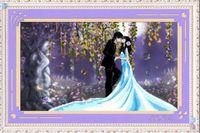 """Алмазная вышивка-мозаика """"Поцелуй влюбленных"""""""