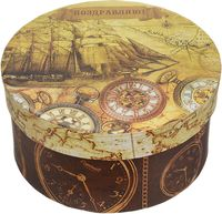 "Подарочная коробка ""Хронографы"" S (14х14х7 см; арт. 44286)"