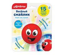 """Музыкальная игрушка """"Весёлый смайлик"""" (красный)"""