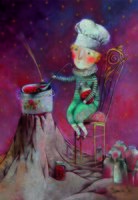 """Магнит на холодильник """"Варенье из звезд"""" (арт. 11.51)"""