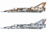 """Набор самолетов """"IDF KFIR C2 & KFIR C7"""" (масштаб: 1/144)"""