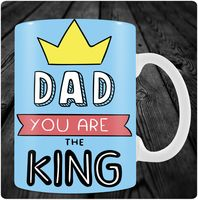 "Кружка ""Dad you are the King"" (арт. 5)"