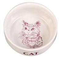 """Миска для кошек """"Кот"""" (0,3 л; арт. 4010)"""
