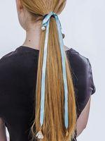 """Резинка для волос """"Зеленый"""""""