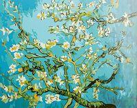 """Картина по номерам """"Цветущий миндаль"""" (400х500 мм)"""