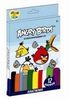 "Пластилин ""Angry Birds"" (12 цветов, 240 гр)"