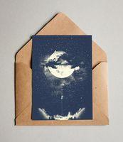 "Открытка ""Луна"" (арт. 141)"