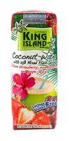 """Вода кокосовая """"King Island. Клубника, гранат, красный виноград"""" (250 мл)"""