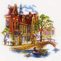 """Вышивка крестом """"Прогулки по Амстердаму"""""""