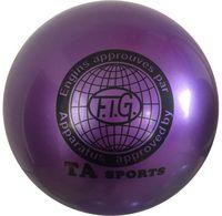 Мяч для художественной гимнастики RGB-101 (19 см; фиолетовый)