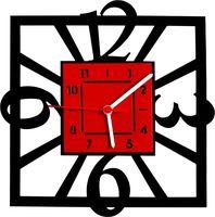 Часы настенные (29х30 см; арт. CH012)