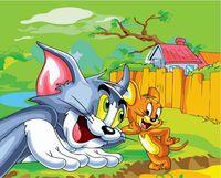 "Картина по номерам ""Том и Джерри"" (400х500 мм; арт. PC4050034)"