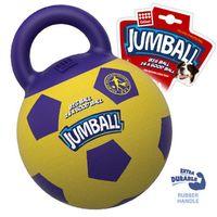 """Игрушка для собак """"Мяч с захватом"""" (26 см; желто-фиолетовый)"""