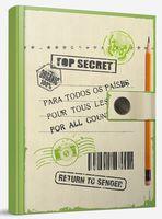 """Блокнот """"Top secret"""" (А6)"""