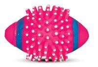 """Игрушка для собак с пищалкой """"Мяч для регби с шипами"""" (11,5 см)"""