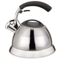 Чайник металлический со свистком (3 л; арт. Mr-1314)