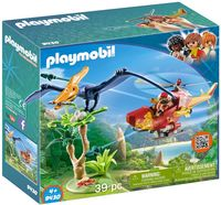 """Игровой набор """"Динозавры. Вертолет для приключений с птеродактилем"""""""