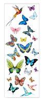 """Набор татуировок для тела """"Butterflies"""""""