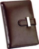 Футляр для визиток, кредитных или дисконтных карт (коричневый)