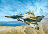 """Истребитель """"C-7 KFIR"""" (масштаб: 1/72)"""