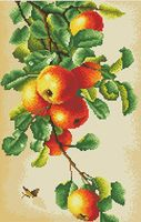"""Алмазная вышивка-мозаика """"Наливные яблоки"""""""