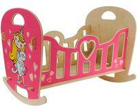 """Кроватка-качалка для кукол """"Принцесса"""""""