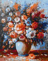 """Картина по номерам """"Весенний букет"""" (400х500 мм)"""