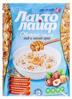"""Каша быстрого приготовления овсяная """"Лактолайф. С медом и лесным орехом"""" (40 г)"""