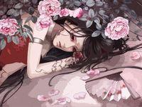 """Картина по номерам """"Девушка с татуировкой"""" (400х500 мм)"""