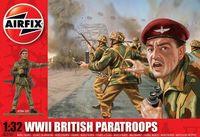 """Набор миниатюр """"WW.II Британские парашютисты"""" (масштаб: 1/32)"""