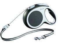 """Поводок-рулетка для собак """"Vario"""" (размер S; до 12 кг; антрацит)"""