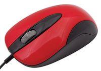 Проводная мышь Oklick 151M USB (red/black)