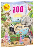 "Альбом с наклейками ""Creative Studio. Create your Zoo"""