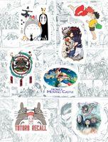 """Набор виниловых наклеек №171 """"Ghibli"""""""