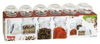 Набор баночек для специй (6 шт.; 150 мл)