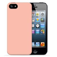 "Чехол для iPhone 5/5S ""Spectrum - Salmon"" (розовый)"