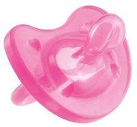 """Пустышка силиконовая ортодонтическая """"Physio Soft"""" (розовая; арт. 00002711110000)"""