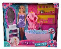 """Игровой набор """"Штеффи в ванной комнате"""""""