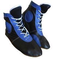 Самбовки ASSH-01 (р. 43; кожа; синие)