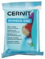 """Глина полимерная """"CERNIT Number One"""" (голубая бирюза; 56 г)"""