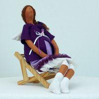 """Кукла """"Ангел-хранитель будущих мам"""""""