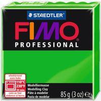 """Глина полимерная """"FIMO Professional"""" (светло-зеленый; 85 г)"""